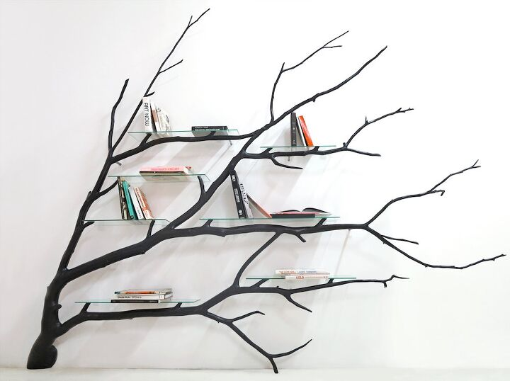 q how to build tree on the wall