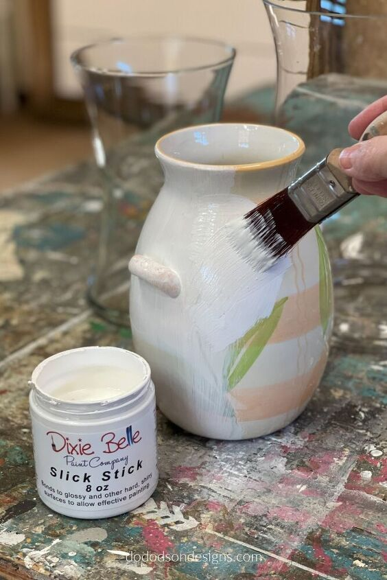 diy pottery barn vase easy decor update