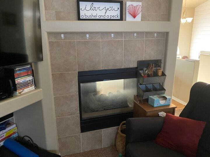 q update double sided fireplace