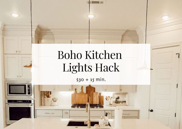 how to hack boho kitchen island lights 804 sycamore