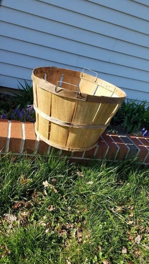 giant outdoor easter basket