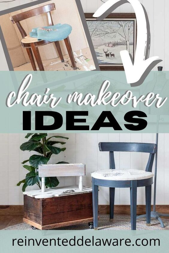 chair makeover ideas vanity stool