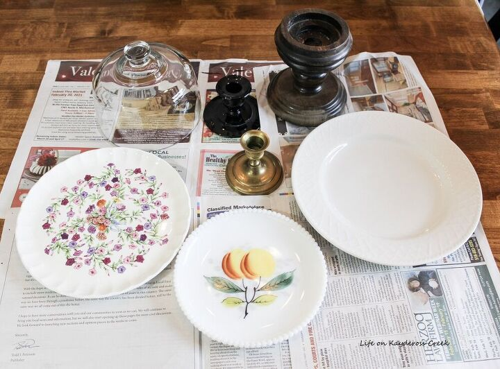 diy cake plate stands