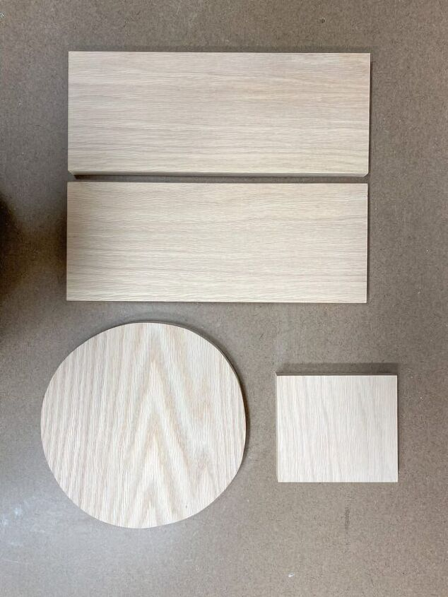 how to make a modern wood stool