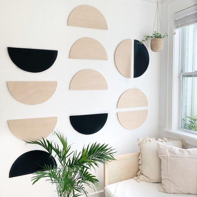 half moon wall art