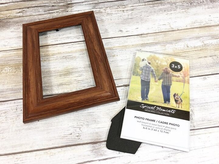 easy diy picture frame snowman