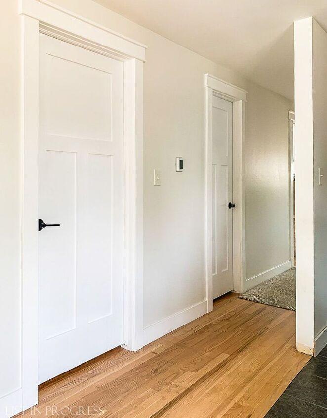 how to create craftsman style door trim