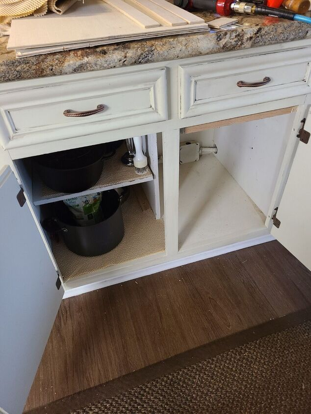 double cabinet split to two