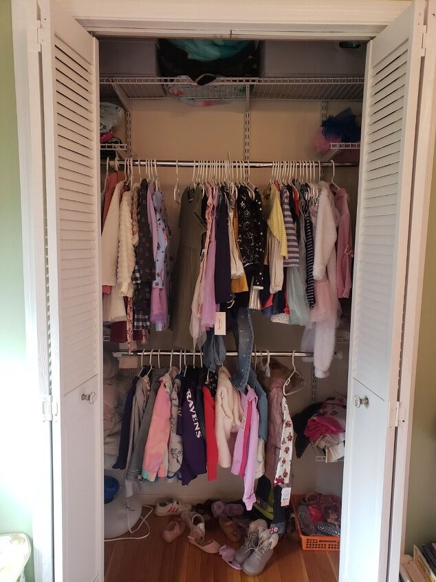 how i revamped my daughter s closed with whimsical appeal
