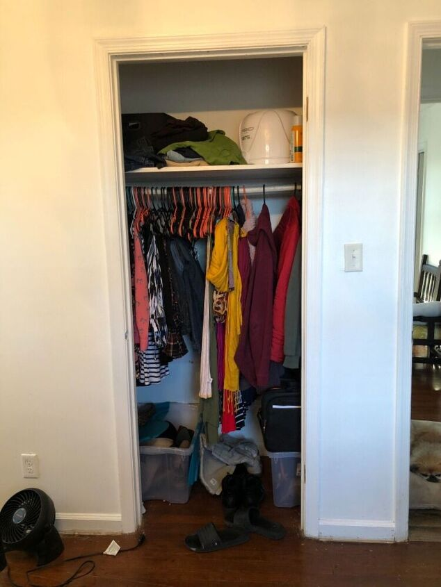 a simple closet upgrade for less than 30