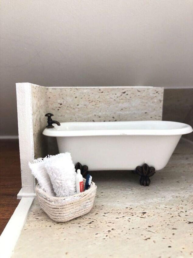 miniature basket bowl