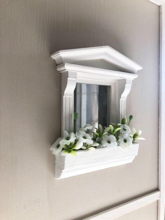 miniature planter box for dollhouse