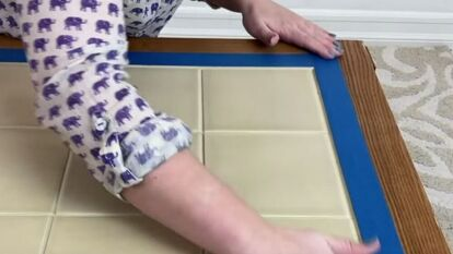 Tile Table Makeover