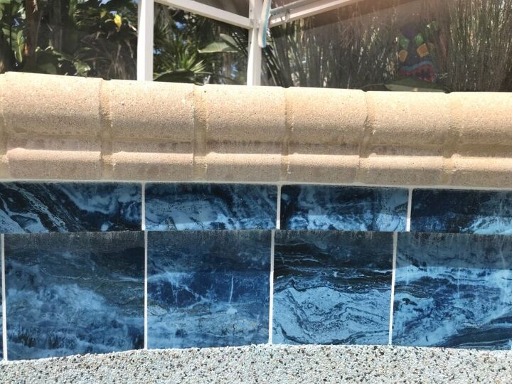 q watermarks on concrete bullnose how do get rid of them