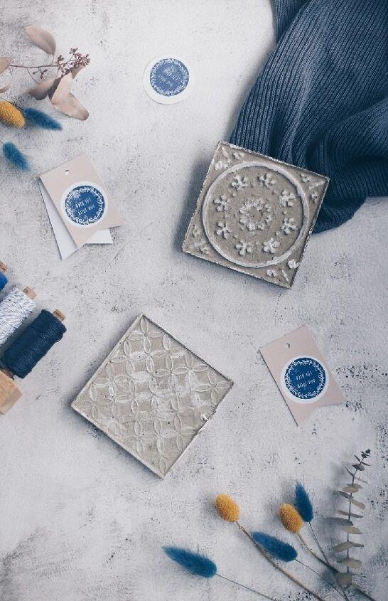 make concrete tiles yourself housewarming gift