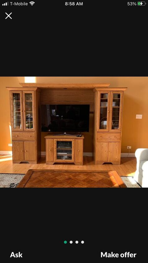 q remaking entertainment center into murphy bed frame