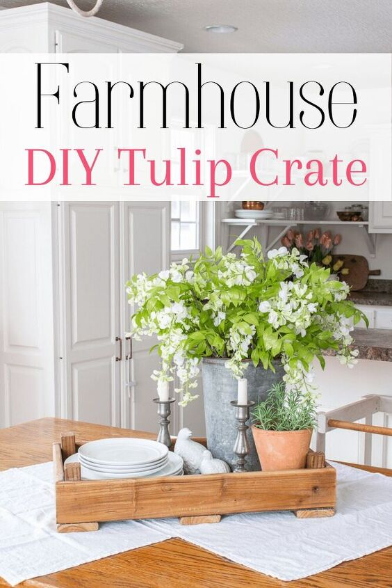 how to diy a dutch tulip crate simple easy