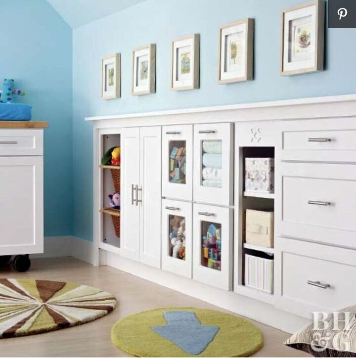 learn how to make a dresser that doesn t take up any square footage, My Inspiration picture that I found on Pinterest