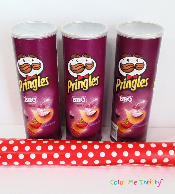 pringles can makeover for kitchen storage