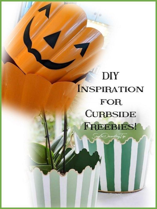 diy inspiration for curbside freebies