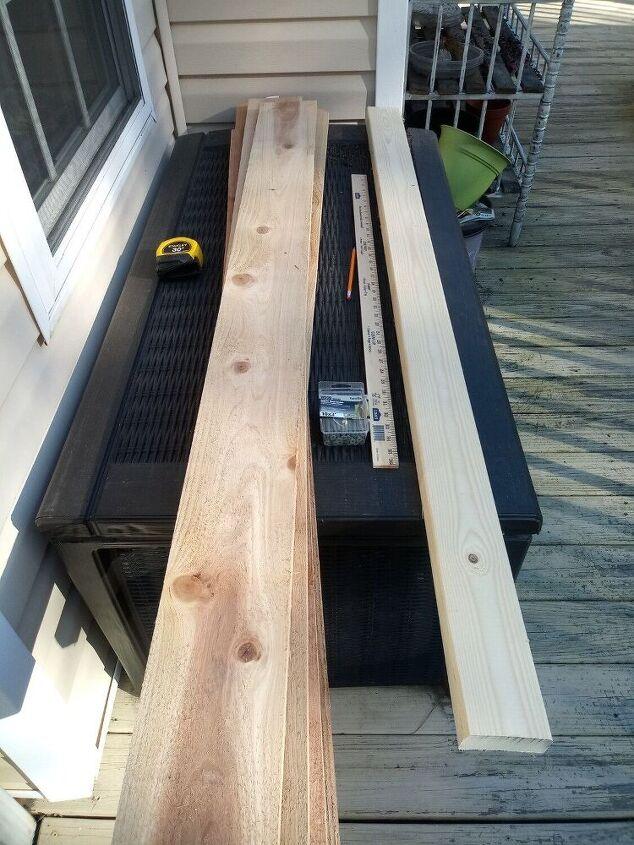budget friendly raised garden beds, Supply List