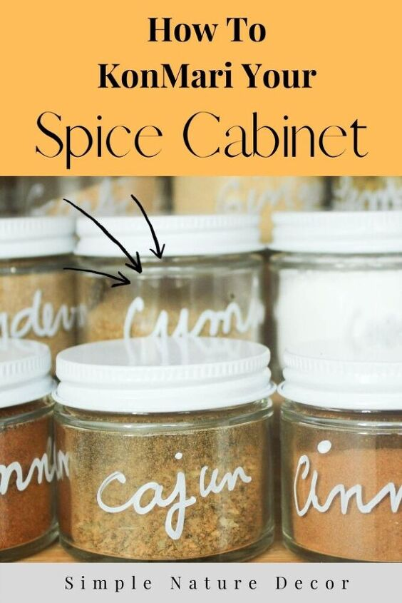 how to organize your spice cabinet the konmari way