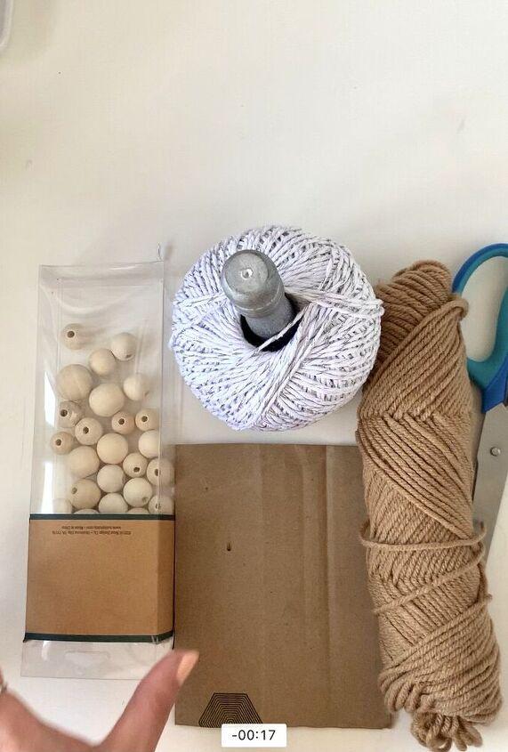 gorgeous farmhouse beads with tassel