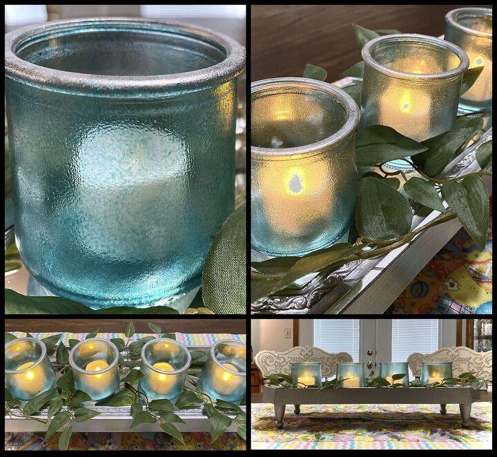 oui jars transform into faux depression glass