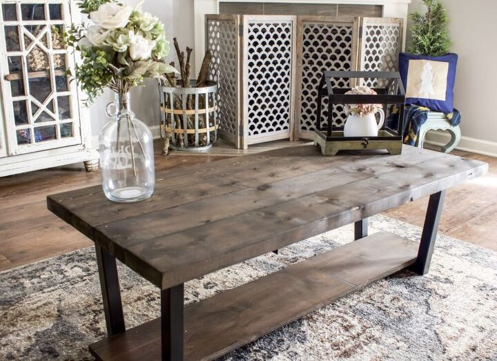 how to build the easiest diy coffee table ever