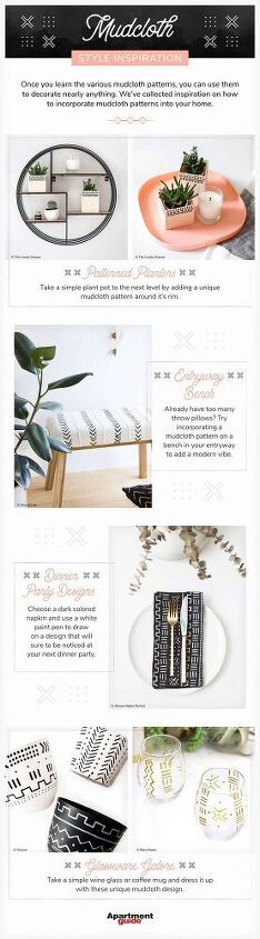 diy mudcloth pillow ideas for your home