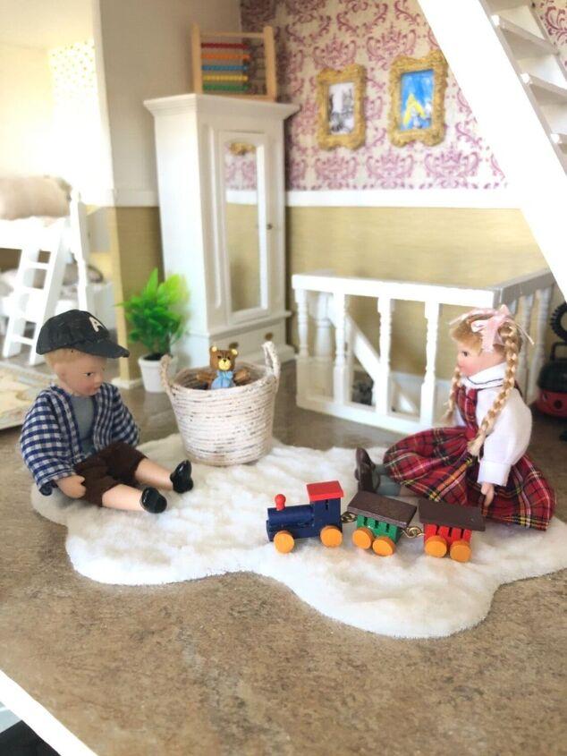miniature dollhouse rug
