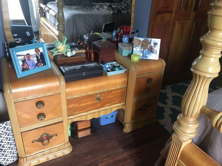 q refinish my bedroom furniture