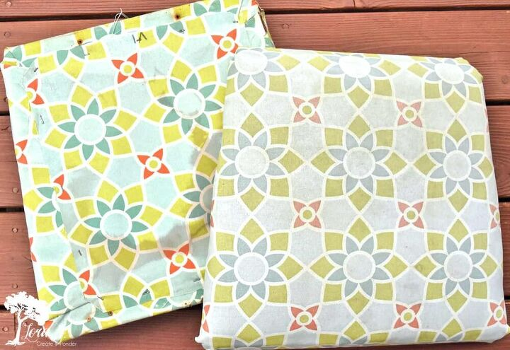 refreshing patio chairs stapled cushion how to