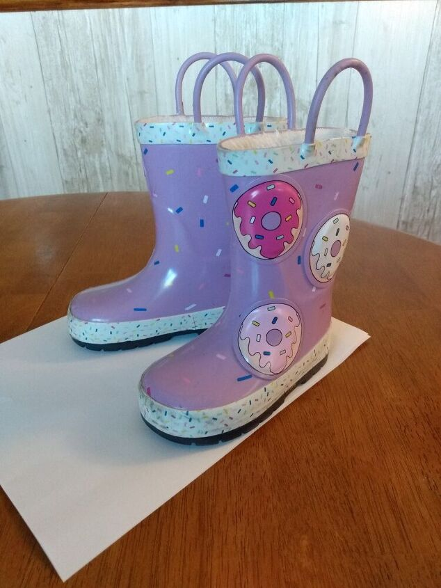 rain boot makeover