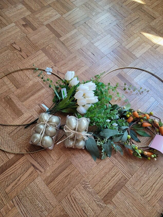 how i made easter wreaths for 15 each