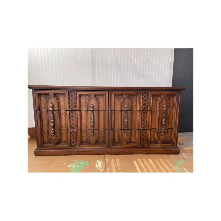 updating a dated piece of furniture, Before