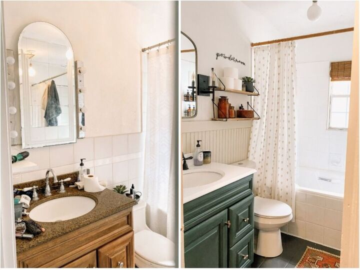 our budget bathroom remodel
