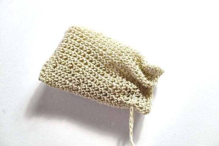 how to crochet a soap saver bag