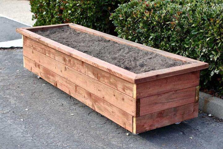 planter box on wheels