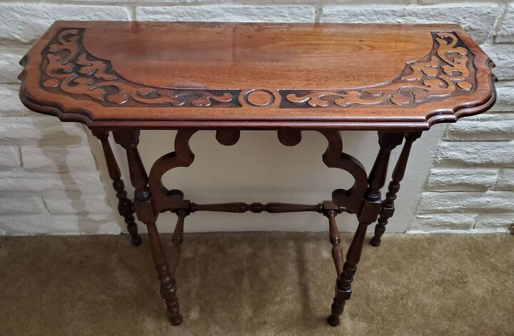 q can anyone tell me how much this console table is worth