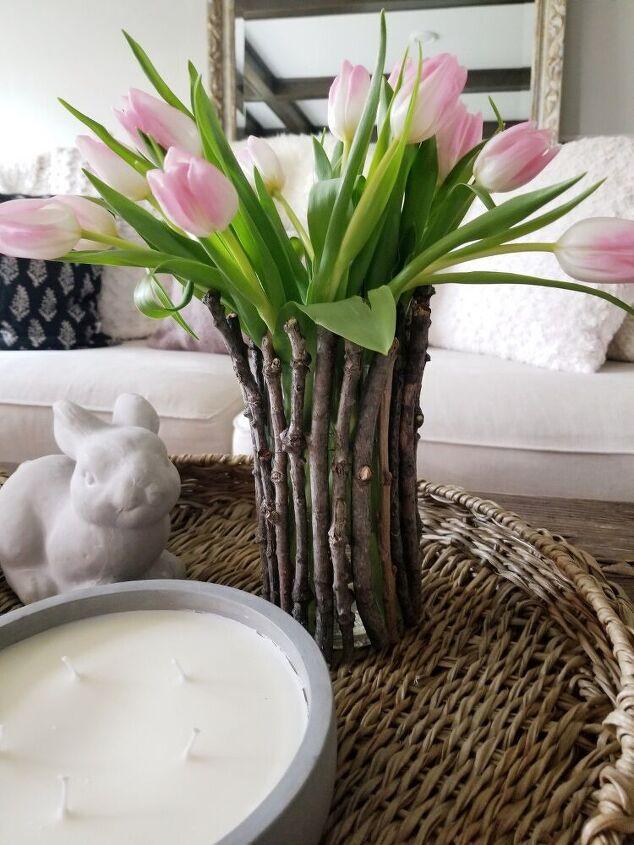 spring vase upcycle