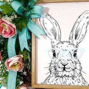 Bunny Sign Wreath
