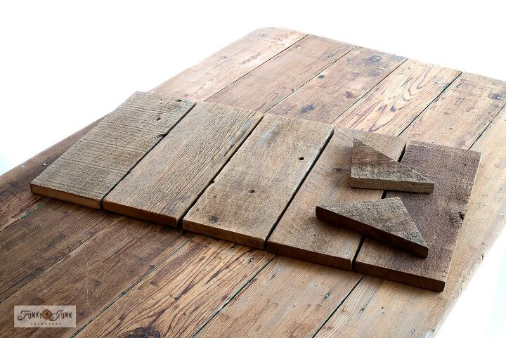 Preparing the planks