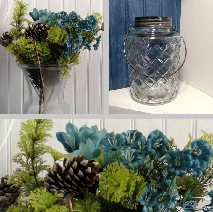 farmhouse styled flower arrangement, Items to Pair Up
