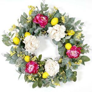 Floral Lemon Wreath