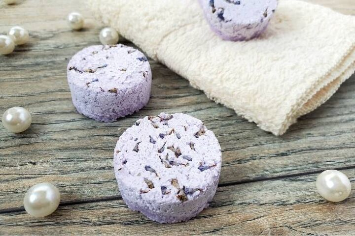 how to make lavender shower steamers without citric acid