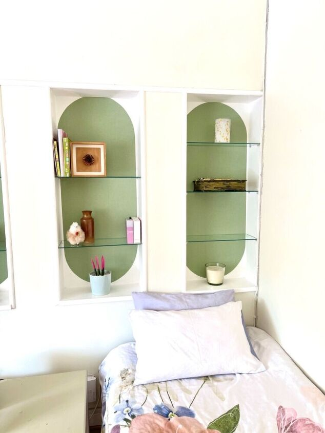 s go green with 18 gorgeous makeover ideas, Beautify a bookcase with an arched design