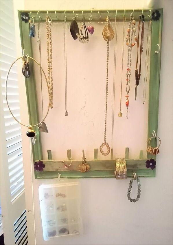 space saving jewelry organizer
