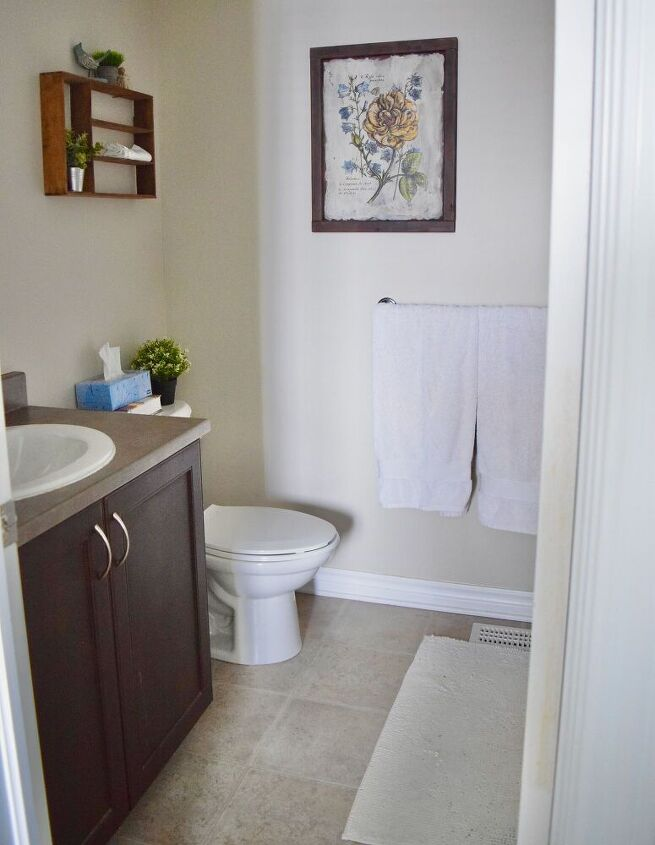 completely transform your bathroom with milk paint