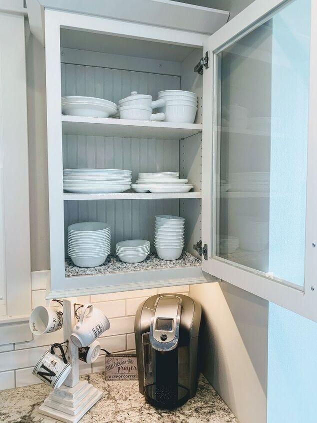 diy beadboard kitchen cabinets project